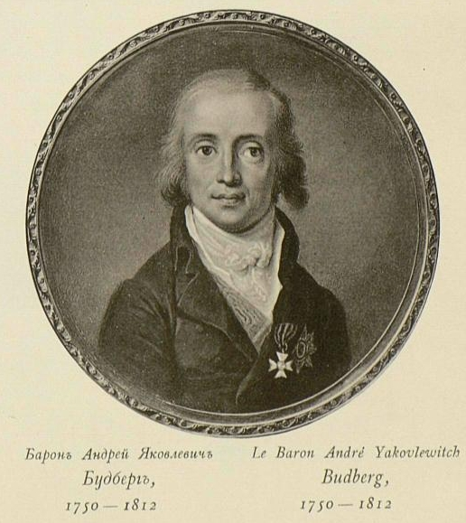 Andrey Iakovlevici von Budberg, ministrul de Externe al Rusiei 1806-1807