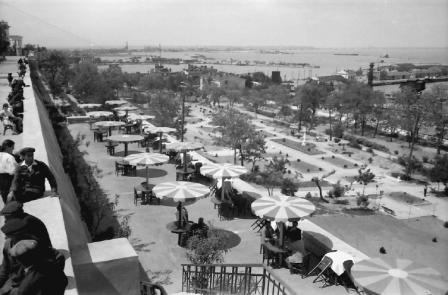 Faleza oraşului Odesa în iunie 1943