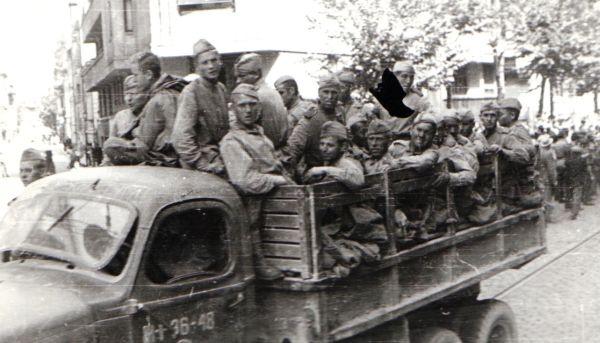Armata Rosie în Bucuresti
