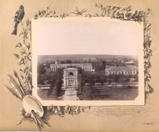Centrul Chișinăului din 1889 fără actuala clădire a Guvernului