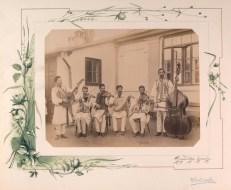 Orchestră românească în Basarabia la 1889