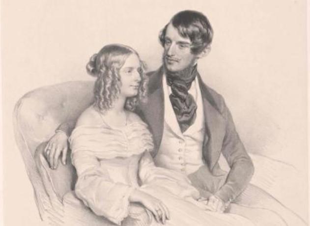 """Consulul austriac la Iași între anii 1856-1862 Rudolf Oskar Gödel-Lannoy<a href=""""https://www.europeana.eu/sl/item/92062/BibliographicResource_1000126097286"""">Sursa foto</a>"""