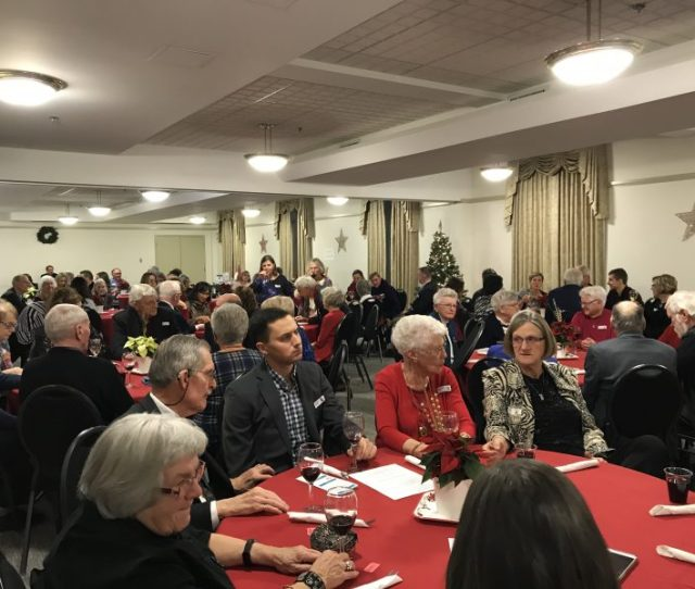 On Tuesday November  Edhs Members And Guests Came Together At The Prince Of Wales Armouries For Our Annual Christmas Dinner And Speaker Series