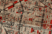 Map of Fairhill, 1934