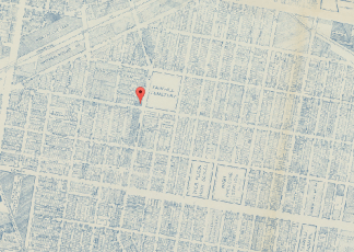 Map of Fairhill, 1962