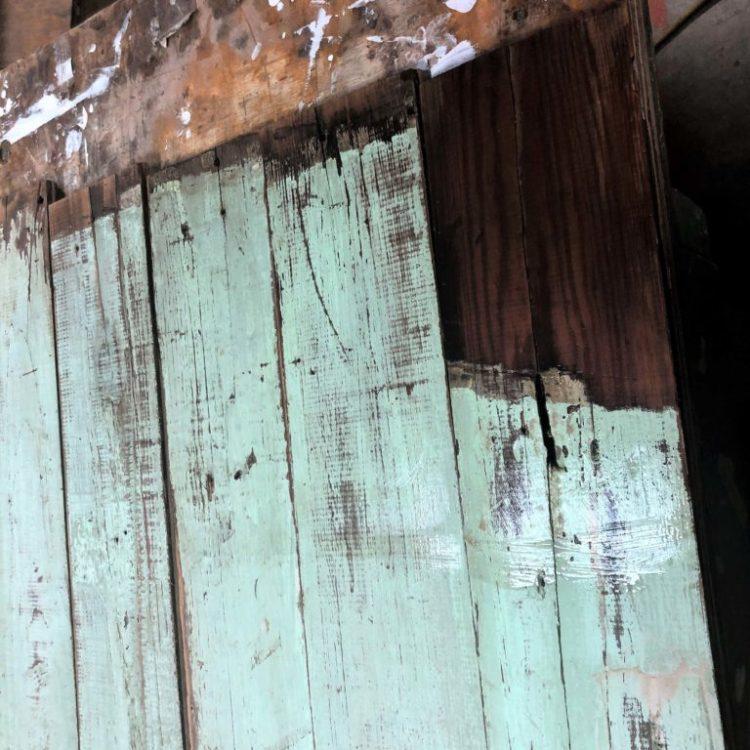 75 sf Reclaimed Wall Paneling Seafoam Green