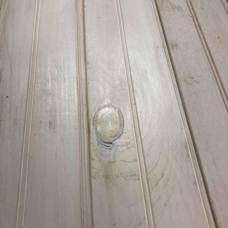 "40 sf 3/4"" T&G Pine beadboard white"