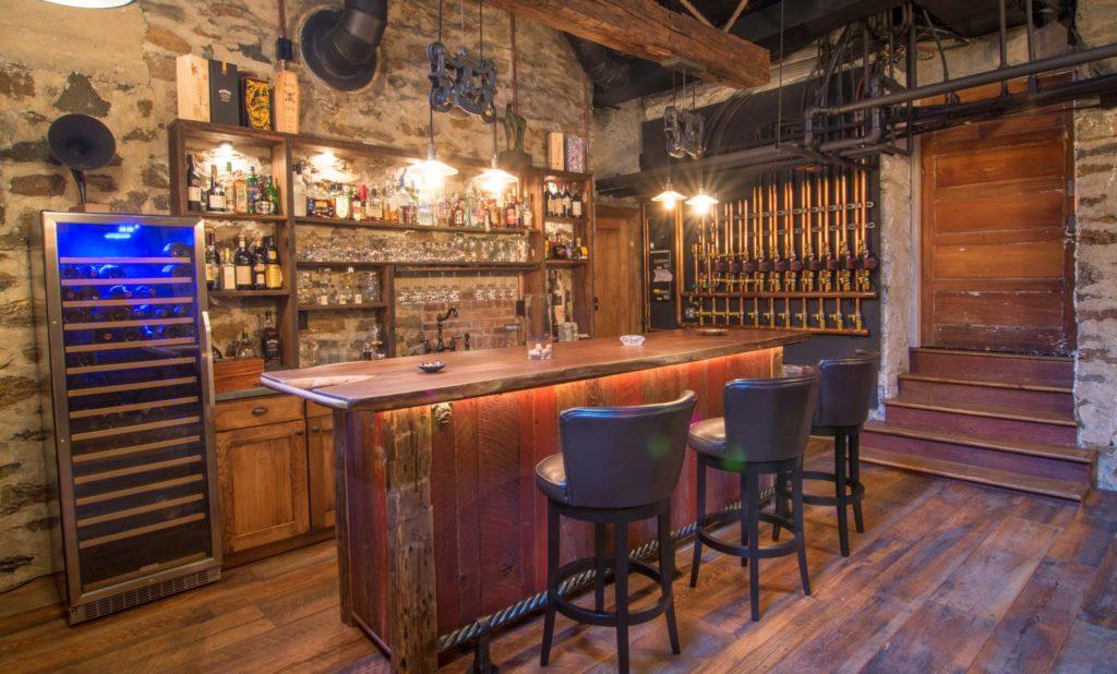 Black Oak, Reclaimed Barnwood, Granny's Store Flooring