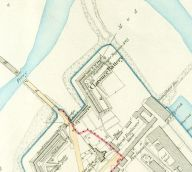 Clarence Battery Plan 1890