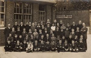 Clarence Square School 1918