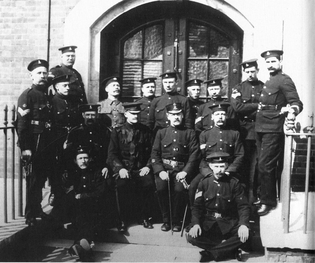 Forton detention Barracks R.M. Warders