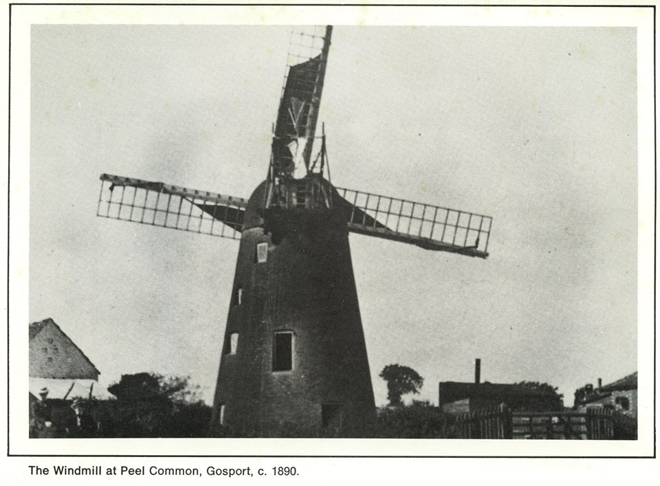 Peel Common windmill