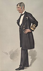 Admiral Commerell in a cartoon
