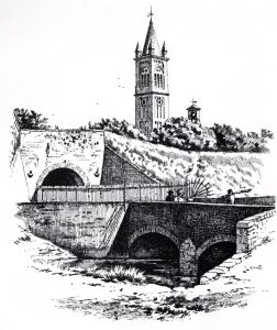 Haslar Gate by William Snape 1896