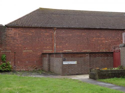 Forton Detention Barracks the back of the Gymnasium
