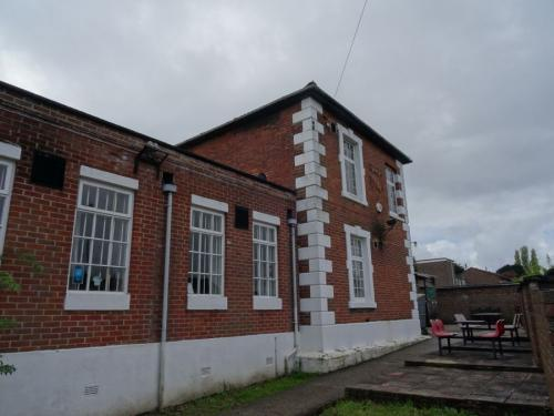 Forton Detention Barracks: The remaining Warders' Quarters