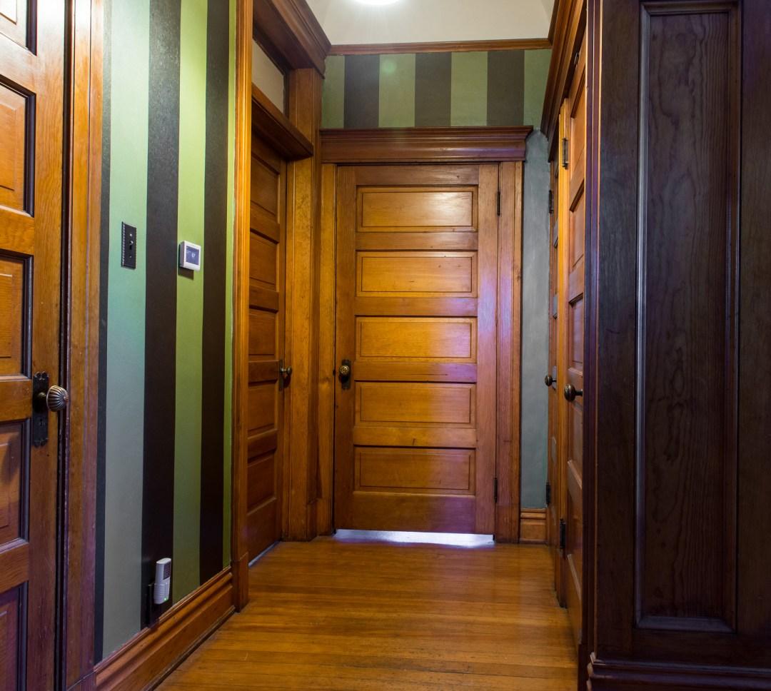 Victorian woodwork and doors