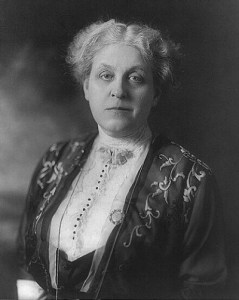 Carrie Chapman Catt. 1914. Prints and Photographs Division, Library of Congress.