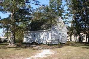 Quaker house. Photo by Joyce Gregory Wyels.