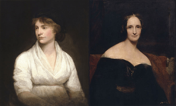 Mary Wollstonecraft and Mary Shelley: Romantic Outlaws