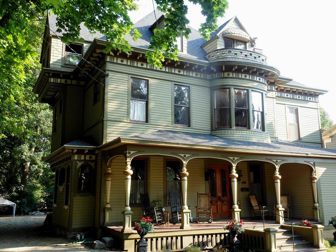 Stewart Victorian Oswego New York Historic House Colors