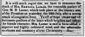 Rebecca Lamar