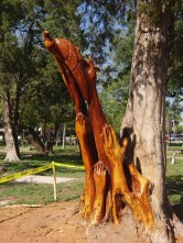 College Park, Wood Sculpture