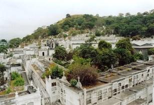 General Cemetery of Guayaquil Ecuador