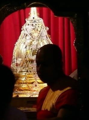 Stupa containing Buddha's Tooth, Candi Sri Lanka. Photo: Marks Hinton