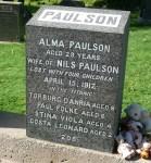 Paulson, Alma