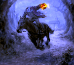 "Headless Horseman from ""The Legend of Sleepy Hollow"""