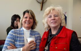 Cynthia Shaw and Mary Lindsey, Jeffco Historical Commission.