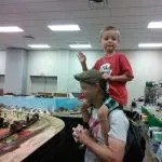 Family Fun at Jefferson Train Show