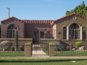 Spanish Colonial In F.Q. Story Historic District 1930