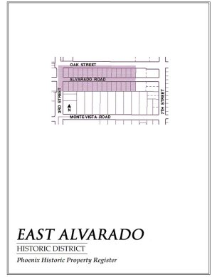 east alvarado historic,map,homes,historic,district,neighborhood,area,phoenix,arizona