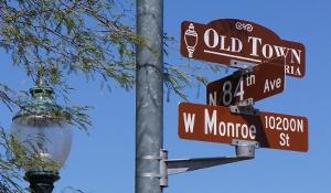 peoria,arizona,az,hostoric,street,sign,neighborhood,real,estate