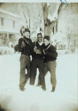 Roland Hager, John Johnson, and Clarence Johnson