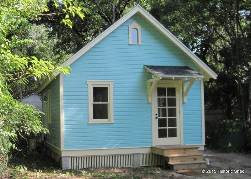 Cottage/ Tiny House by Historic Shed Florida