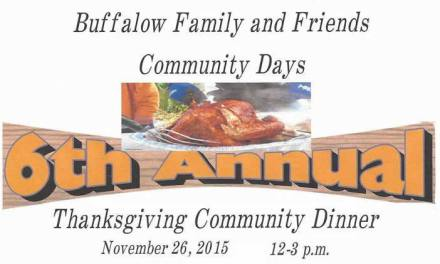 Buffalow Family and Friends host Thanksgiving feast