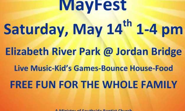MayFest features free fun for the whole family at Elizabeth River Park May 14