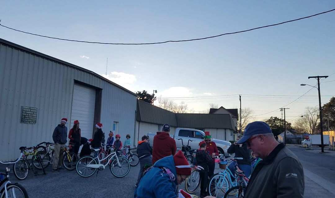 2018 Holiday Bike Parade warms riders and wavers alike