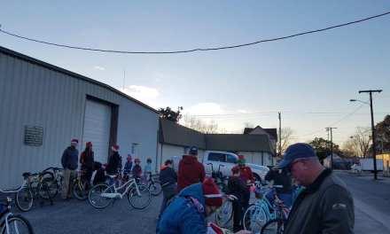 2018 Holiday Bike Parade warms riders and wavers alike
