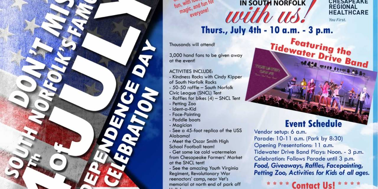2019 Event Sponsors – South Norfolk 4th of July Celebration