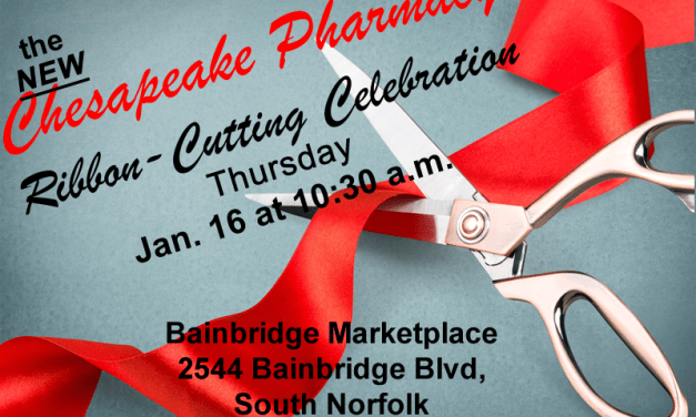 Chesapeake pharmacy opens tHURSDAY!