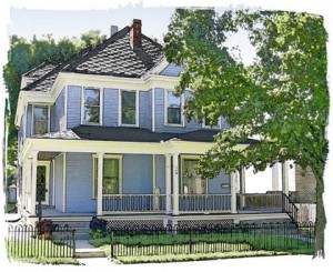 The Sarah Taylor House 3 Bradford Street Historic South Park