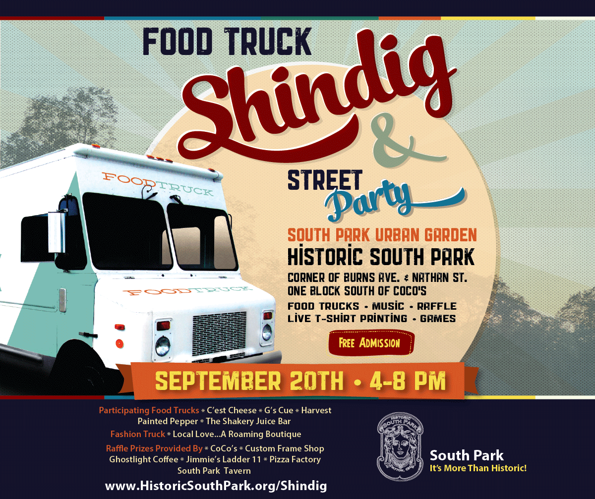 Food Truck Shindig Street Party Historic South Park