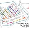 2014 HSPI Alley Cleanup Map Routes + 2 Pickup Locations