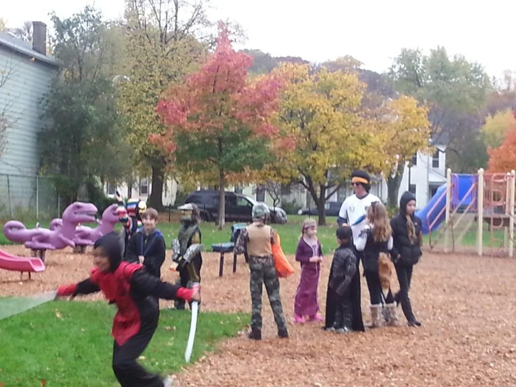 Spooky Park Parade 2014
