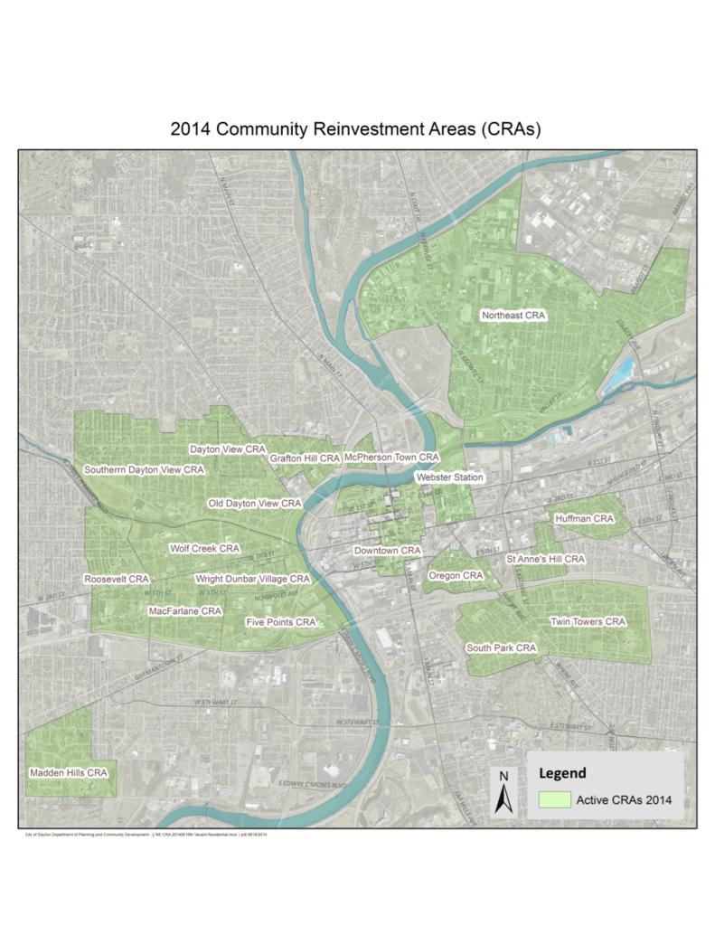 City-of-Dayton-Community Reinvestment Areas