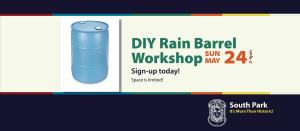 2015 Historic South Park Rain Barrel Workshop
